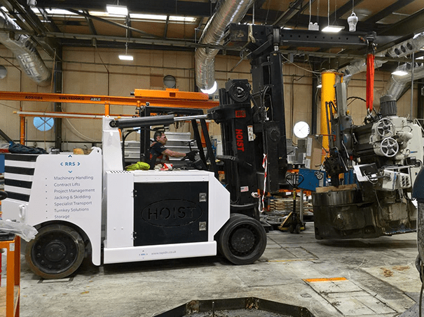 Machine Moving Forklift
